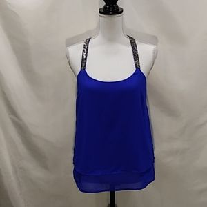 Charlotte Russe racer back tank Size M